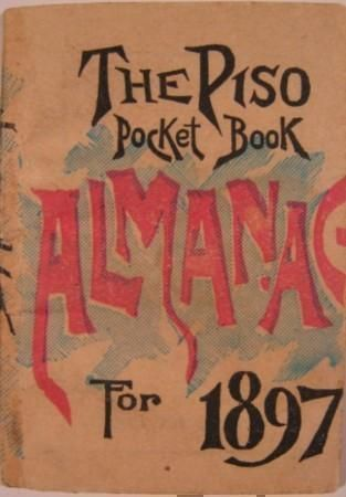 HAZELTINE'S POCKET BOOK ALMANAC 1897.