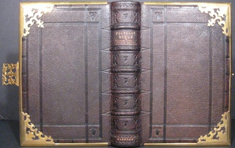 THE BOOK OF COMMON PRAYER...TOGETHER WITH THE PSALTER OR PSALMS OF DAVID [with] THE ENGLISH VERSION OF THE POLYGLOT BIBLE; CONTAINING THE OLD AND NEW TESTAMENTS. Bible in English.