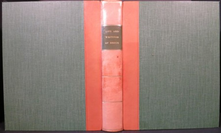 ACCOUNT OF THE LIFE AND WRITINGS OF JAMES BRUCE, OF KINNAIRD, ESQ. F.R.S. AUTHOR OF TRAVELS TO DISCOVER THE SOURCE OF THE NILE, IN THE YEARS 1768, 1769, 1770, 1771, 1772, & 1773. James Bruce, Alexander Murray.
