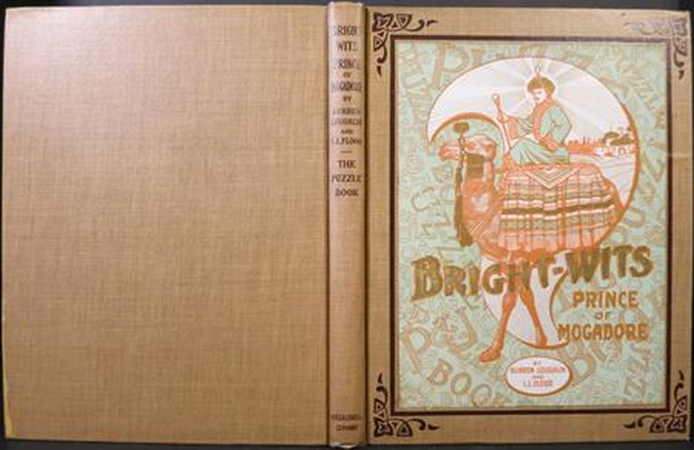 BRIGHT-WITS PRINCE OF MOGADORE AND THE PUZZLES HE HAD TO SOLVE. Burren Loughlin, L. L. Flood.
