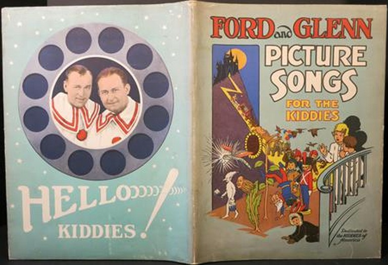 PICTURE SONGS FOR THE KIDDIES AS SUNG BY FORD AND GLENN AT LULLABY TIME:. Ford and Glenn.