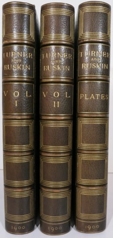 TURNER & RUSKIN. AN EXPOSITION OF THE WORKS OF TURNER FROM THE WRITINGS OF RUSKIN. Frederick Wedmore.