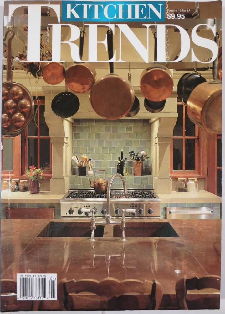 KITCHEN TRENDS. Four issues. Trends Publishing.