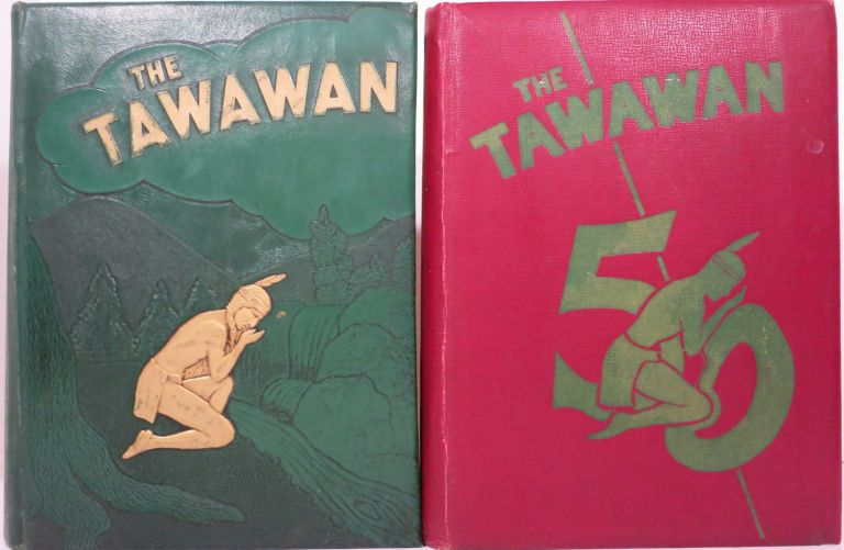 THE TAWAWAN [College Yearbooks]. Central State University, OH State College Wilberforce.