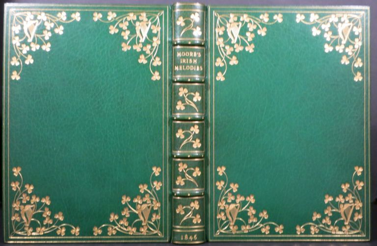 MOORE'S IRISH MELODIES. Thomas Moore, Daniel Maclise, Illus.