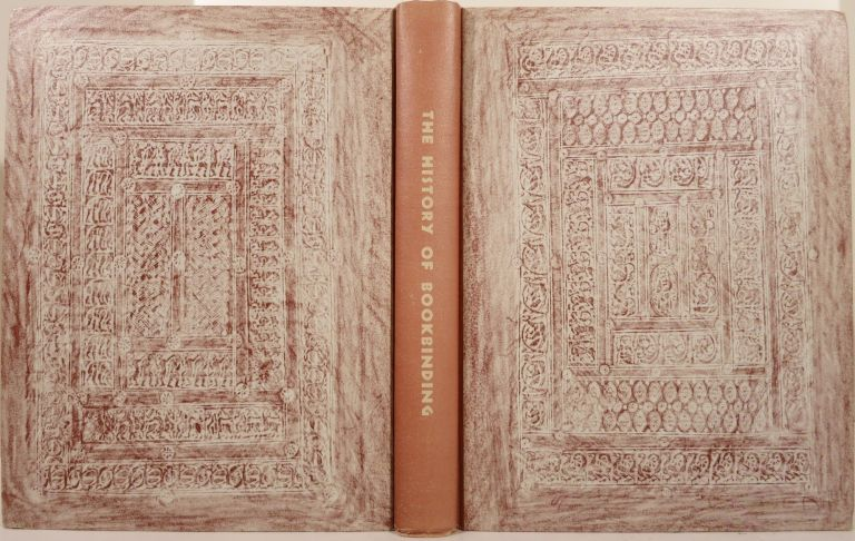 THE HISTORY OF BOOKBINDING 525-1900 A.D. Dorothy Miner.