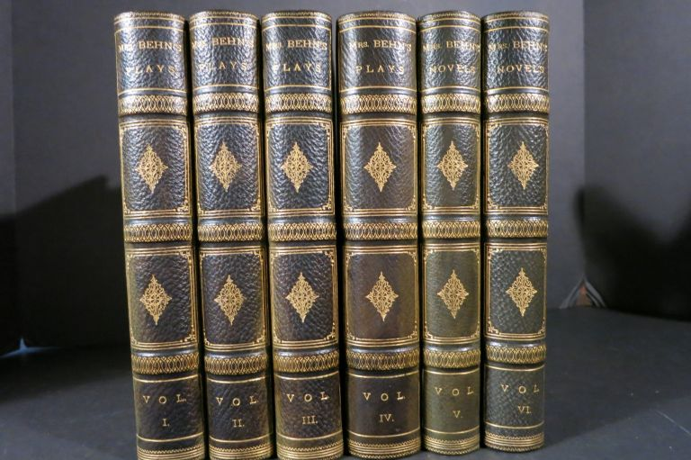 THE PLAYS, HISTORIES, AND NOVELS OF THE INGENIOUS MRS. APHRA BEHN. Aphra Behn, 1640 - 1689.