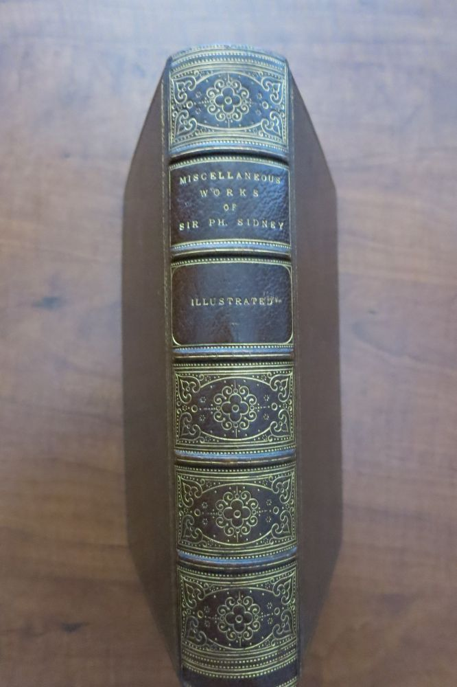 THE MISCELLANEOUS WORKS OF SIR PHILIP SIDNEY, KNT. WITH A LIFE OF THE AUTHOR AND ILLUSTRATIVE NOTES BY WILLIAM GRAY, ESQ. Philip Sidney.
