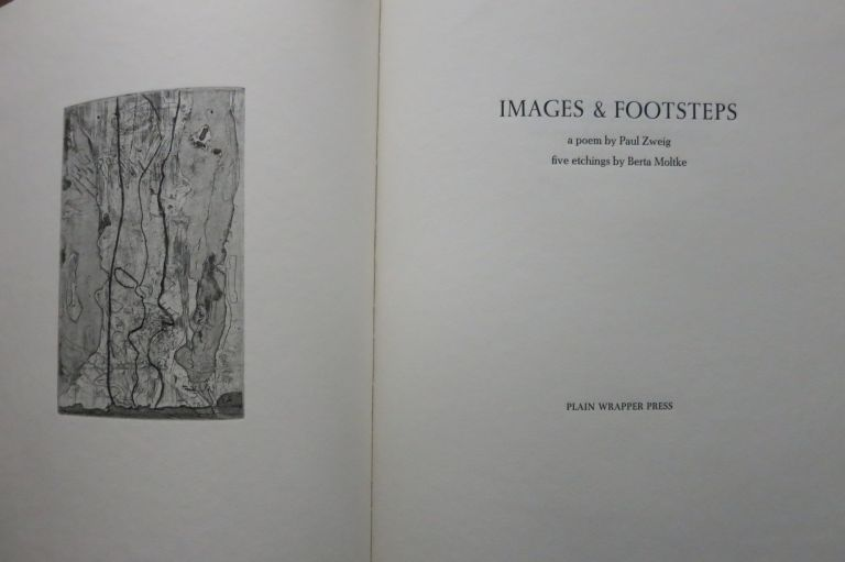 IMAGES & FOOTSTEPS. Paul Zweig.