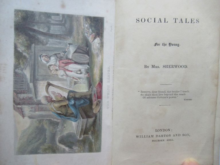 SOCIAL TALES FOR THE YOUNG. Sherwood, Mary Martha.