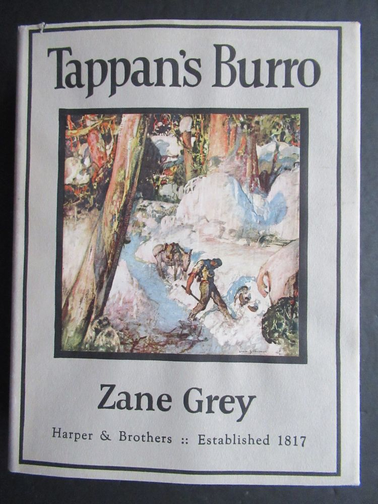 TAPPAN'S BURRO AND OTHER STORIES. Zane Grey.
