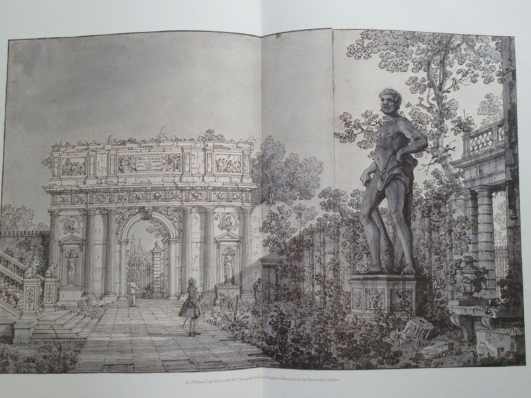 FIFTY DRAWINGS BY CANALETTO FROM THE ROYAL LIBRARY WINDSOR CASTLE. Charlotte. ed Giovanni Antonio Canal . Miller, 1697 -1768.