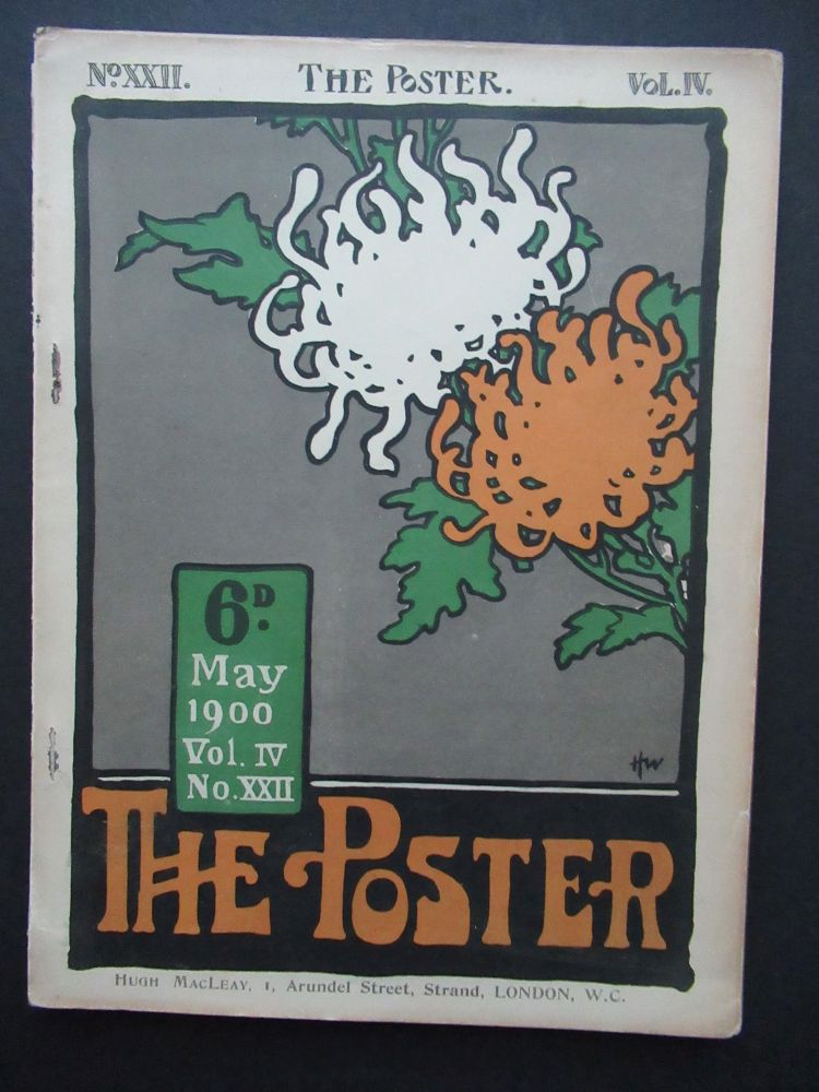 THE POSTER, An Illustrated Monthly Chronicle. Vol. IV, No. XXII.