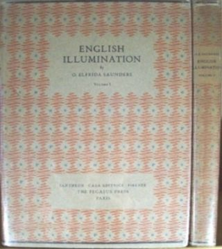 ENGLISH ILLUMINATION. O. Elfrida Saunders