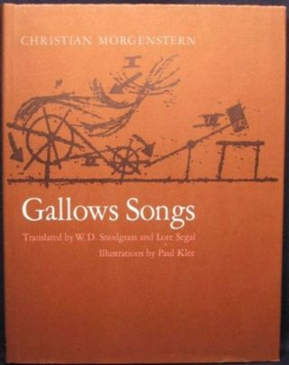 GALLOWS SONGS. Christian Morgenstern