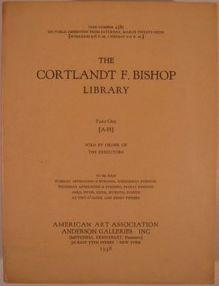THE COURTLAND F. BISHOP LIBRARY. Courtland Bishop