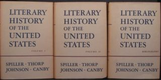 LITERARY HISTORY OF THE UNITED STATES.