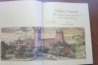HIDDEN TREASURES: THE HISTORY AND TECHNIQUE OF FORE-EDGE PAINTING.