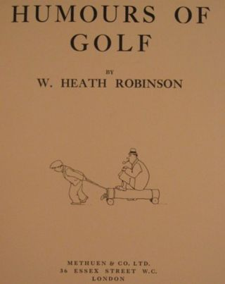 HUMOURS OF GOLF.
