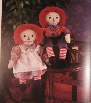 JOHNNY GRUELLE, CREATOR OF RAGGEDY ANN AND ANDY.