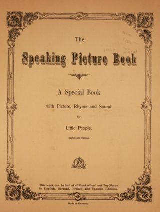 THE SPEAKING PICTURE BOOK: