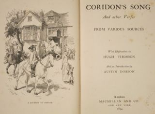 CORIDON'S SONG AND OTHER VERSES.
