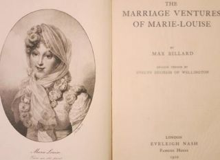 THE MARRIAGE VENTURES OF MARIE-LOUISE.