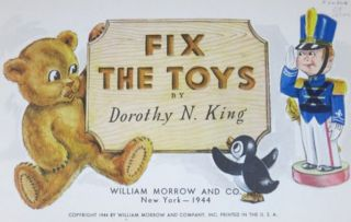 FIX THE TOYS.