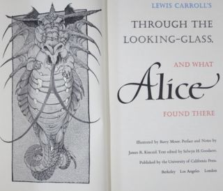 ALICE'S ADVENTURES IN WONDERLAND [with] THROUGH THE LOOKING-GLASS, AND WHAT ALICE FOUND THERE.