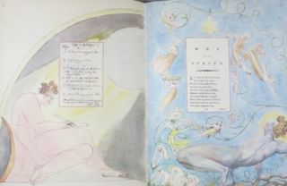 WILLIAM BLAKE'S WATER-COLOURS ILLUSTRATING THE POEMS OF THOMAS GRAY.