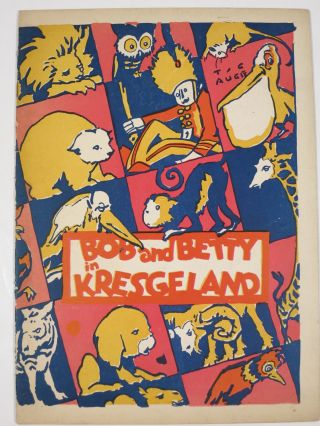 BOB AND BETTY IN KRESGELAND. Christmas advertising booklet