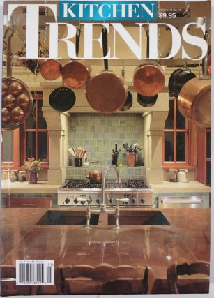 KITCHEN TRENDS. Four issues.