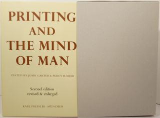 PRINTING AND THE MIND OF MAN: A DESCRIPTIVE CATALOGUE ILLUSTRATING THE IMPACT OF PRINT ON THE EVOLUTION OF WESTERN CIVILIZATION DURING FIVE CENTURIES.