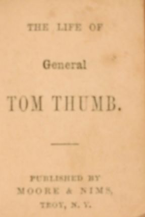 AUNT ROSE AND HER NIECES; DEW-DROPS; THE LIFE OF GENERAL TOM THUMB; DAILY MANNA; THE HOLY BIBLE.