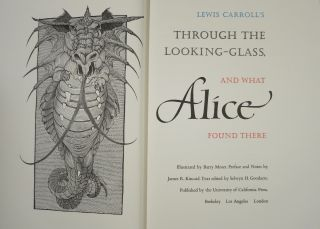 THROUGH THE LOOKING-GLASS AND WHAT ALICE FOUND THERE.