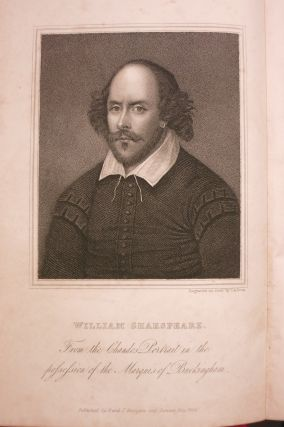 THE PLAYS OF WILLIAM SHAKESPEARE... [with] A HISTORY OF THE STAGE, AND A LIFE OF SHAKESPEARE BY ALEXANDER CHALMERS.