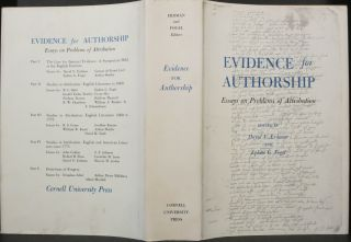 EVIDENCE FOR SCHOLARSHIP, ESSAYS ON PROBLEMS OF ATTRIBUTION.