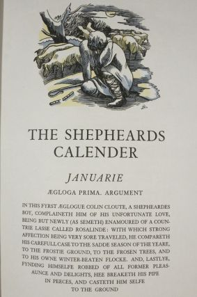 THE SHEPHEARDES CALENDER, CONTEYNING TWELVE AEGLOGUES PROPORTIONABLE TO THE TWELVE MONTHES.