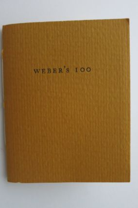 MINIATURE BOOKS, WRITTEN OR EDITED BY MSGR. FRANCIS J. WEBER 1969-1994. Glen Dawson
