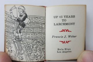 UP 65 YEARS TO LARCHMONT.