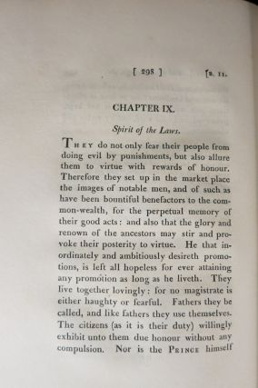 [UTOPIA] A MOST PLEASANT, FRUITFUL, AND WITTY WORK OF THE BEST STATE OF A PUBLIC WEAL, AND OF THE NEW ISLE CALLED UTOPIA: WRITTEN IN LATIN BY THE RIGHT WORTHY AND FAMOUS SIR THOMAS MORE, KNIGHT, AND TRANSLATED INTO ENGLISH BY RAPHE ROBINSON. A.D. 1551.