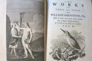 THE WORKS IN VERSE AND PROSE OF WILLIAM SHENSTONE, Esq; MOST OF WHICH WERE NEVER BEFORE PRINTED.