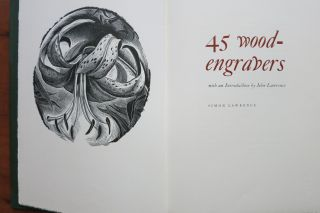 45 WOOD-ENGRAVERS. Simon Lawrence
