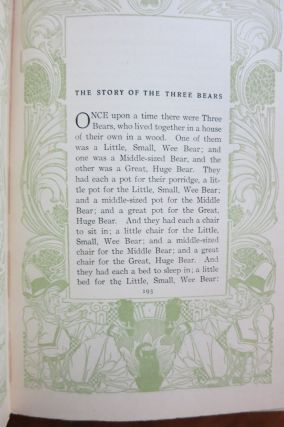 FAVORITE FAIRY TALES. THE CHILDHOOD CHOICE OF REPRESENTATIVE MEN AND WOMEN.
