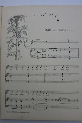 THE HUMS OF POOH, Lyrics by Pooh... additional lyrics by Eeyore.
