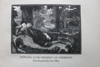 THE AUTOBIOGRAPHY OF EDWARD LORD HERBERT OF CHERBURY.