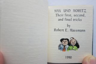 MAX UND MORITZ, THEIR FIRST, SECOND AND FINAL TRICKS.