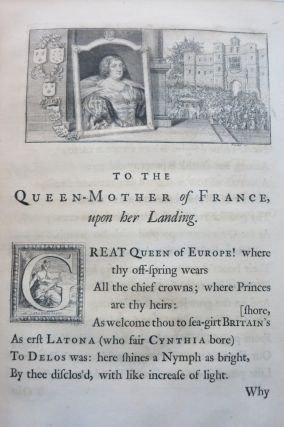 THE WORKS OF EDMUND WALLER Esq. IN VERSE AND PROSE.