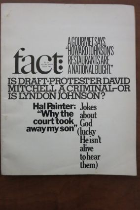 FACT MAGAZINE, Vol. 4, Issue 2. Ralph Ginzburg, Publisher