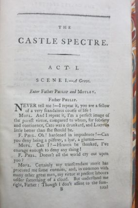 THE CASTLE SPECTRE: A DRAMA IN FIVE ACTS.